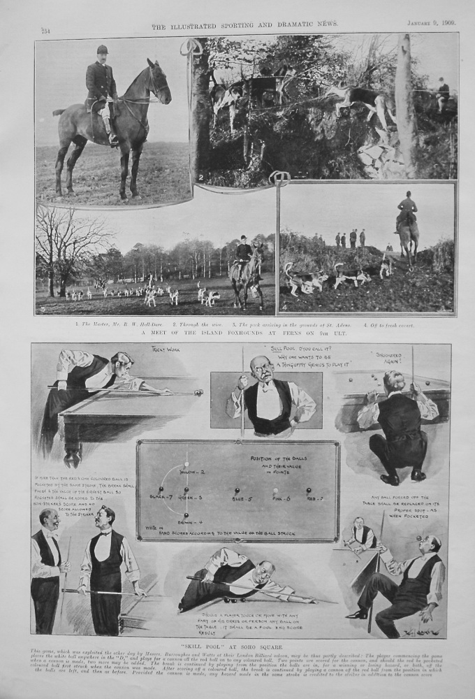 """""""Skill Pool"""" at Soho Square. 1909"""
