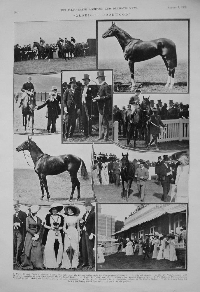 """""""Glorious Goodwood."""" 1909"""