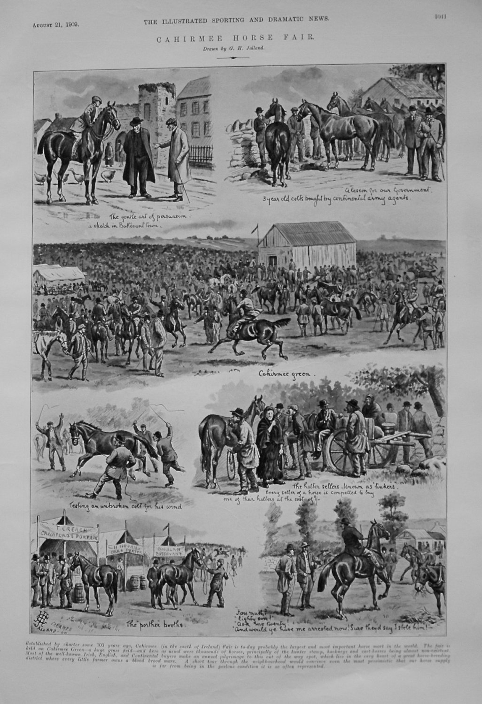 Cahirmee Horse Fair. 1909