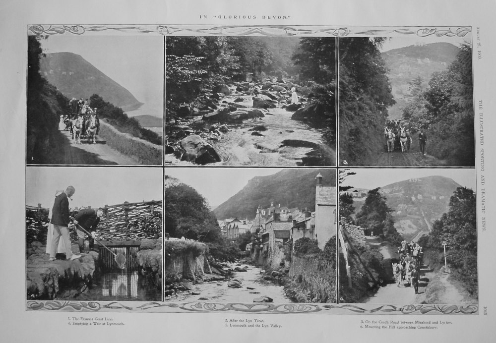 """In """"Glorious Devon."""" 1909"""