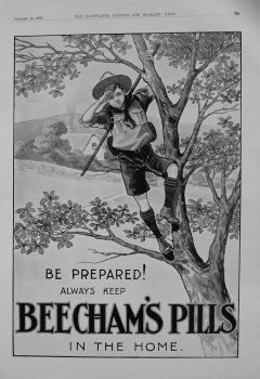 Beecham's Pills. December 1909