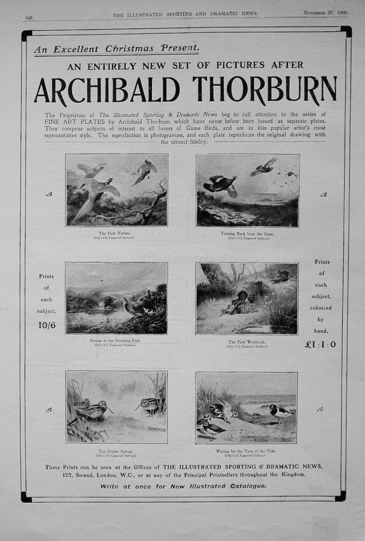 Archibald Thorburn. 1909