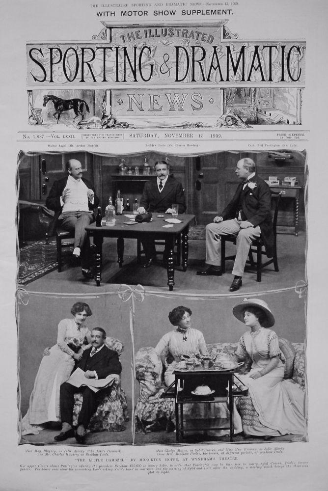 """The Little Damozel,"" by Monckton Hoffe, at Wyndham's Theatre. 1909"