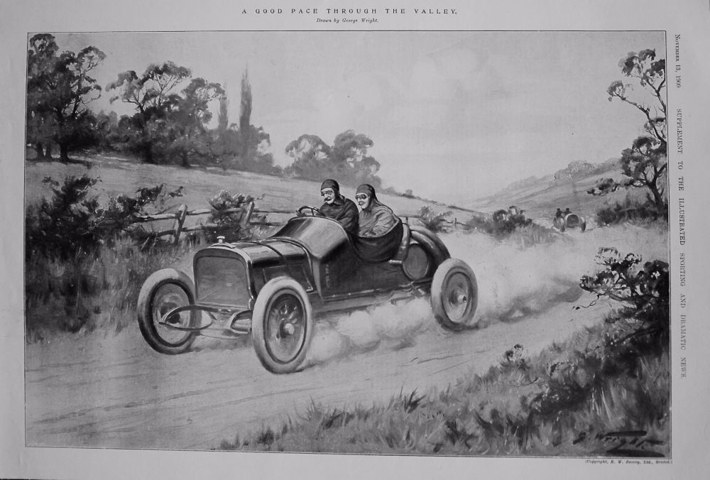 A Good Pace Through the Valley. 1909