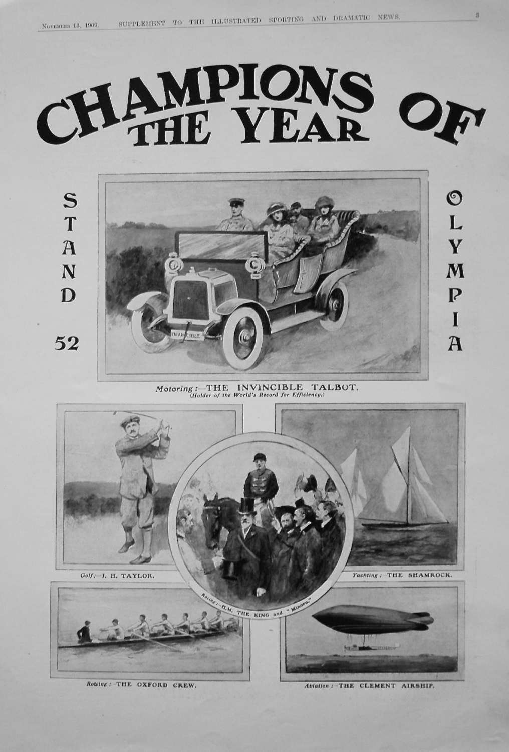 Champions of the Year. 1909