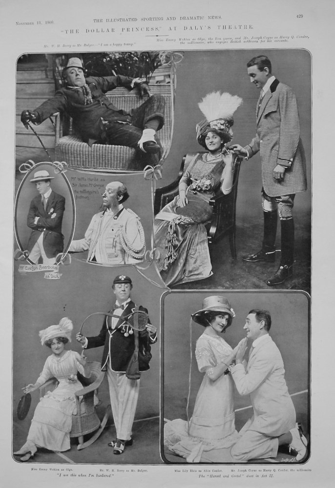 """""""The Dollar Princess,"""" at Daly's Theatre. 1909"""