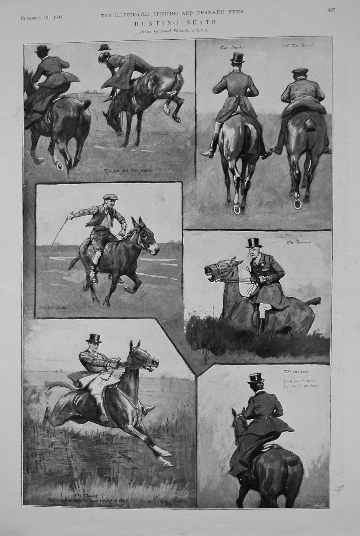 Hunting Seats. 1909