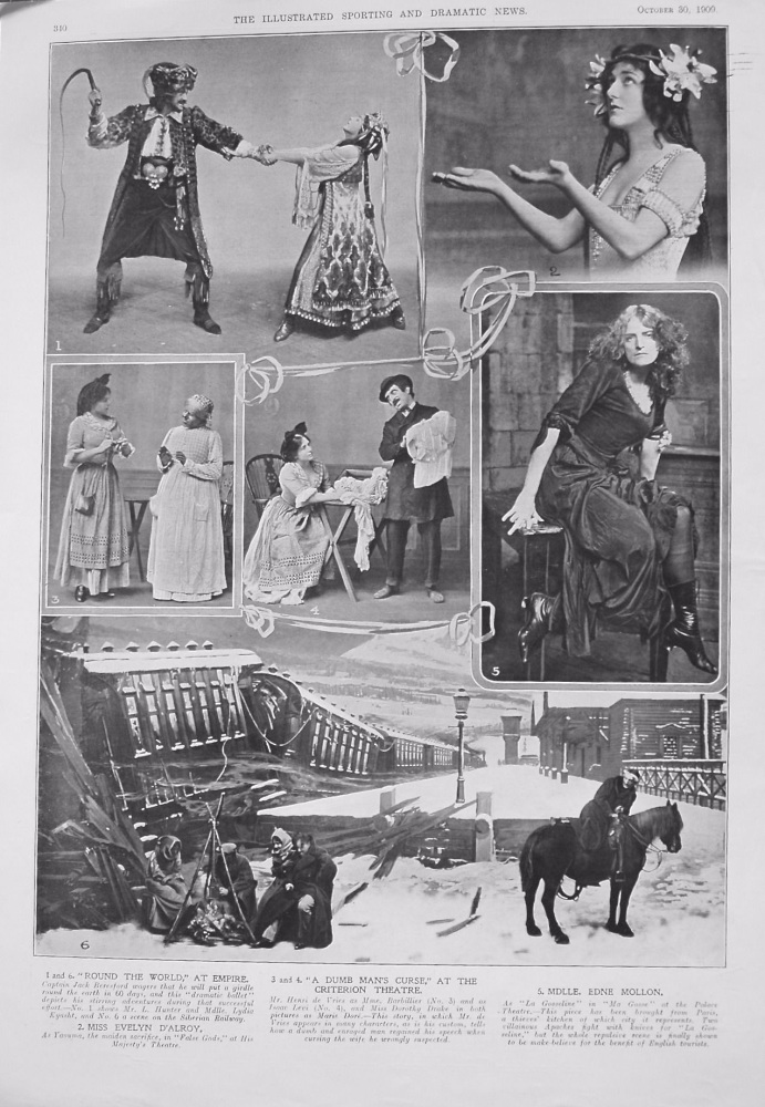 Pictures from the Stage. 1909