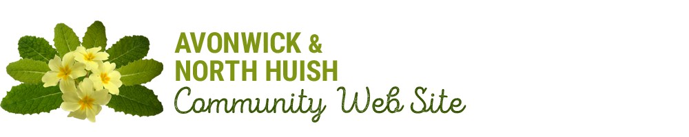 Avonwick and North Huish, site logo.