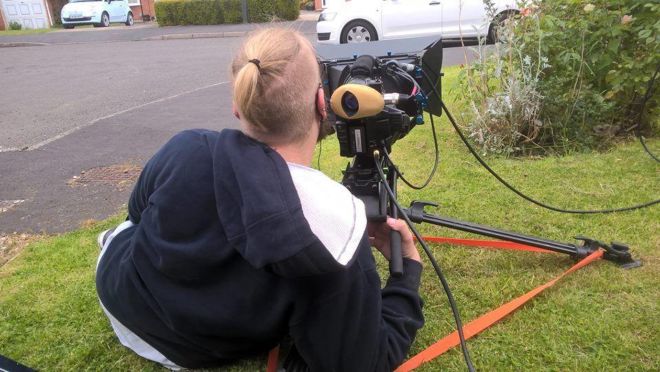 SH Cal the Camera on slightly damp grass