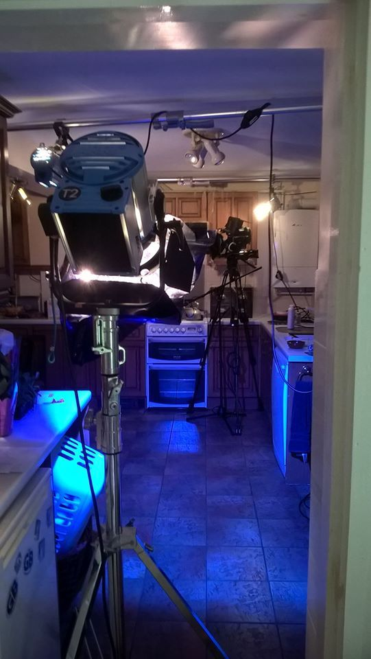 SH Kitchen scene lighting