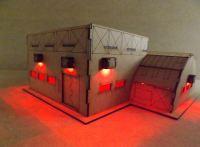 Troop barracks  (integrated building)