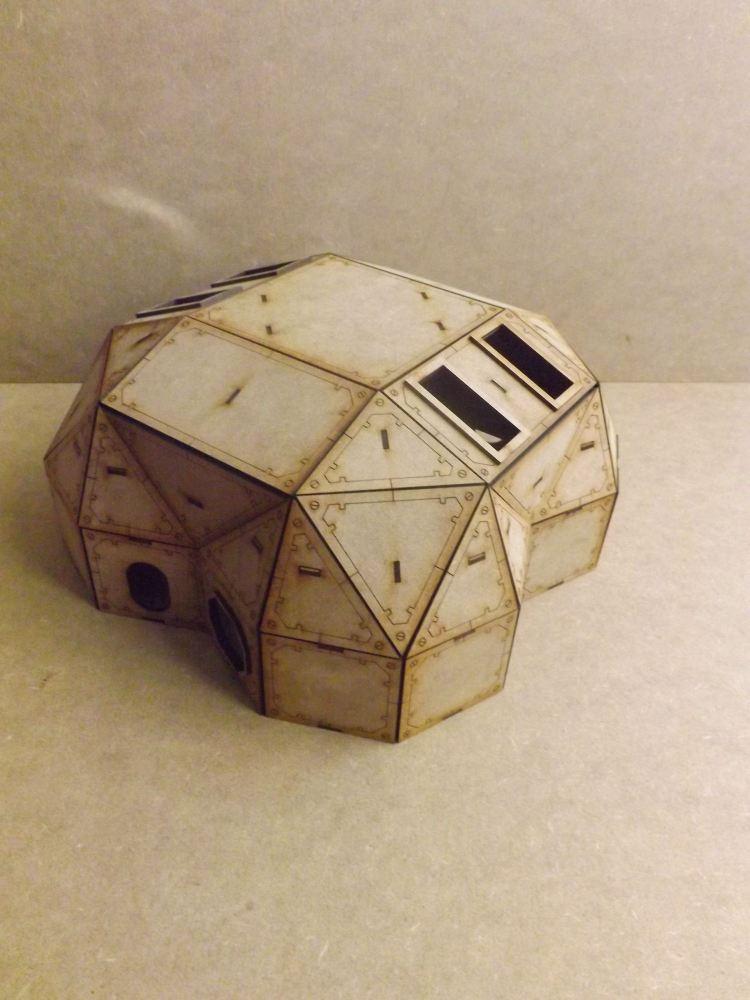 Lunar outpost quad