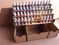 52 Bottle Tier style and Deep storage drawers