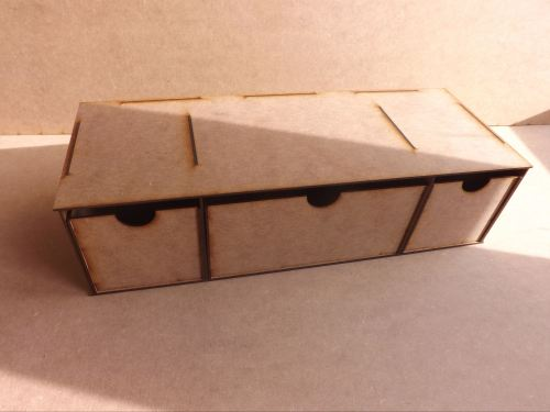 Deep storage Draws for Paint Stands