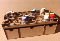 36 Pots tier style for Tamiya Acrylic and Deep storage drawers