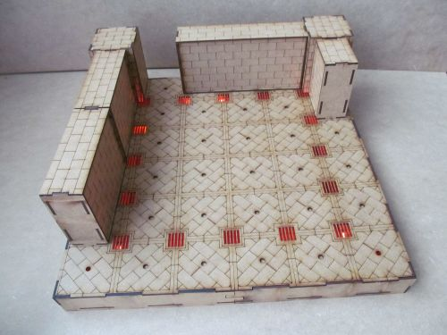 1 base Labyrinth Dungeon board.