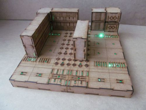 1 base Tech crypts Dungeon board.