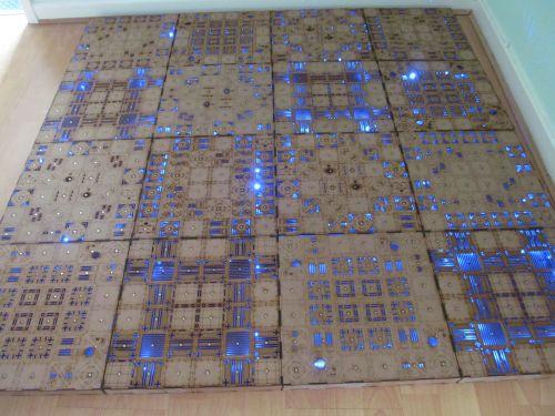 3x3 Area 51 Gaming board.