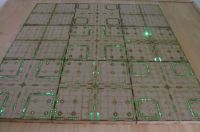 2x4 Cyberspace corridors Gaming board.