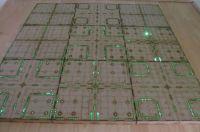 3x3 Cyberspace corridors Gaming board.