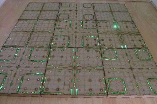 3x4 Cyberspace corridors Gaming board.