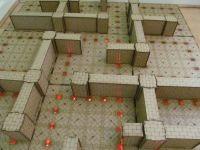 2x2 Labyrinth Dungeon board.