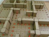 4x4 Labyrinth Dungeon board.