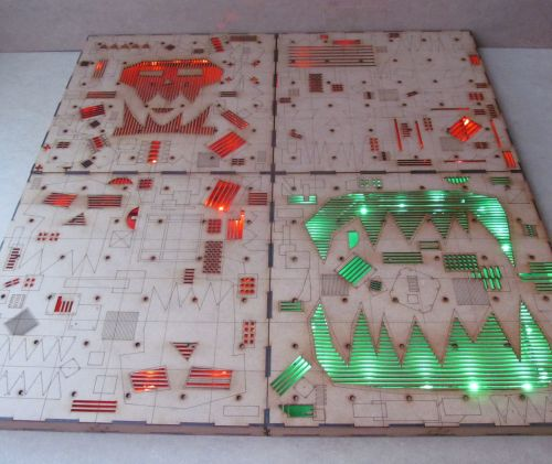 2x2 Shambolic compound Dungeon board.
