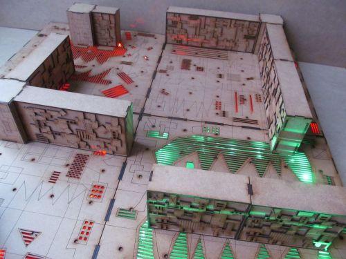 2x4 Shambolic compound Dungeon board.