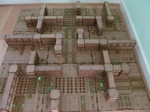 4x4 Tech crypts Dungeon board.