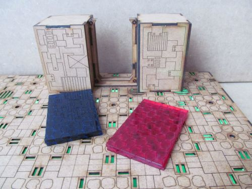 Force field doors