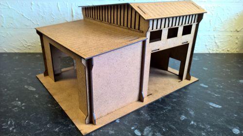 Stockpile shed