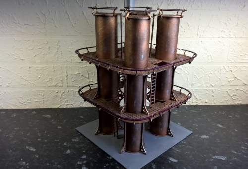 Quad silo