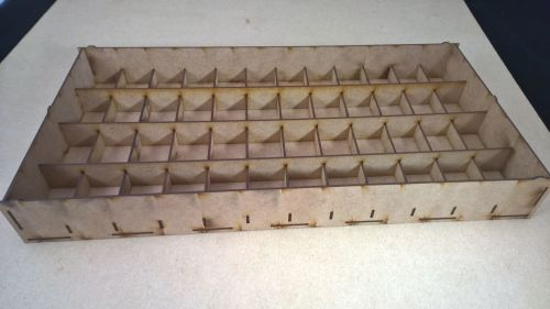 4 storage trays for small to medium troops on 25mm bases