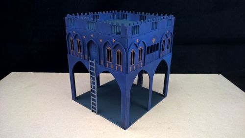 Gothic Guard houses x2
