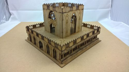 Gothic Admin building