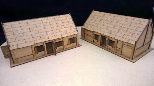 Double cottages x2