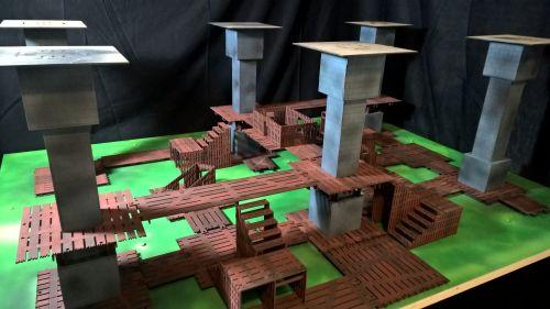Medieval 3x4 undercity