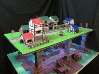 Medieval 3x4 city set