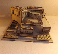 28mm Scifi Buildings