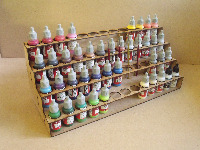 Paint Stands - storage and racks