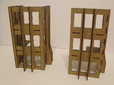 Buildings A