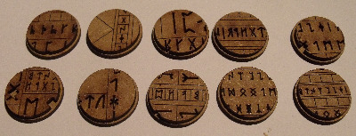 10x25mm Ancient Runes