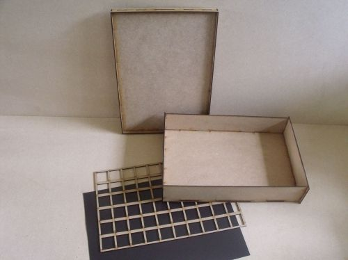 1/2 size Storage Cases 40mm tall