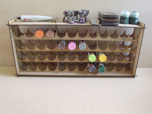 Paint Stand 48 bottle rack