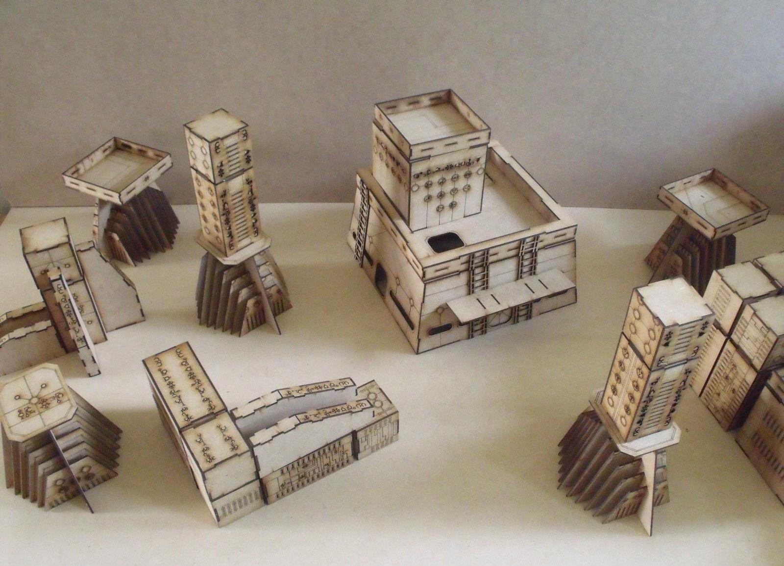 Product Review: Wargame Model Mods Laser Cut Terrain | Talk