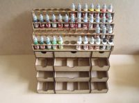 52 Bottle tier style and 2x drawers