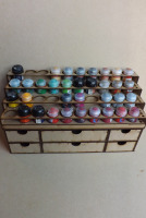 40 Pots tier style and drawers