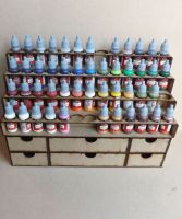 52 Bottle Tier style and drawers